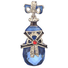 Faberge Egg Pendant / Charm with crystals 3.8 cm #PC-0586-1