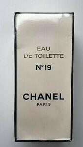 CHANEL NO 19 EAU DE TOILETTE 246 ML 8 FL OZ RARE VINTAGE SEALED BOX
