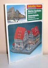 KARTONMODELLBAU  Marien-Apotheke Rothenburg    SCHREIBER-BOGEN  72474  Spur  H0