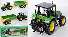 Siku Farmer 2867 John Deere 3300 Traktor mit Wannenkipper 1:32 Agritechnica