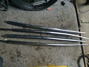 Ford Mondeo Mk3 Hatch Chrome Weather Strips