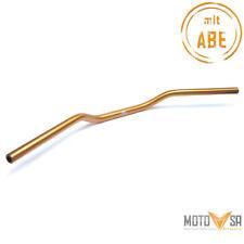 Lenker LSL Superbike Alu 22,2 mm 7/8 Zoll 76 cm breit ABE Aluminium Gold poliert