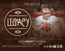 2020 Panini Legacy Football Factory Sealed Hobby Box ~ 16 Packs ~ 2 Autographs!