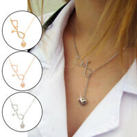 Cute Heart And Stethoscope Charm Pendant Necklace For Medical Doctor Nurse Gift