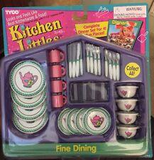 TYCO KITCHEN LITTLES FINE DINING DINNERWARE SET  *NEW* 2019-2