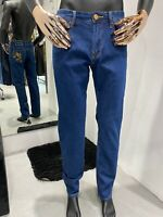 STEFANO RICCI slim fit Blue Jeans Men's W32 L33  (100% Authentic & New)