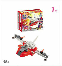 Building mini series 8001 puzzle assembled toys victory No. 1