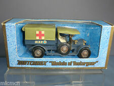 "MATCHBOX MODEL OF YESTERYEAR  No.Y-13 CROSSLEY RAF  TENDER  MIB  ""RARE VERSION"""
