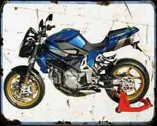 Bimota Db6 Delirio Azzurro A4 Metal Sign Motorbike Vintage Aged