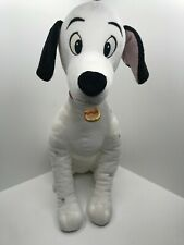 "Vintage Disney 17"" Pongo Plush 101 Dalmatians Toy Stuffed Animal Disney Store"