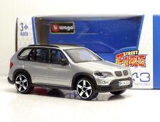 "Bburago 30000 BMW X5 ""Met Silver""  + METAL Scala 1:43"