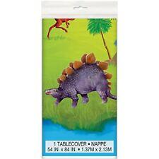 Dinosaur Plastic Tablecloth, 7ft x 4.5ft   NEW