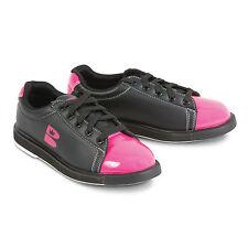 New Brunswick Women's TZone Bowling Shoes Pink/Black Size 8.5 Universal Soles
