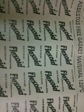 Carta per guarnizioni motore vintage spess. 0,3 mm + 0,5 mm (due fogli) 10x20cm