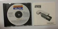 Creative MuVo TX FM Installation CD & Quick Start Guide