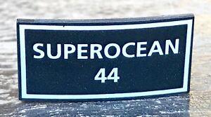 BREITLING Superocean 44 Plaque Display Chronograph Steel Gold Chrono Original /
