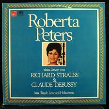 Roberta Peters - Strauss & Debussy Lieder LP Mint- MB 20799 Vinyl 1972 Record