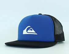 New Auth Men's Quiksilver Bone Snapper Trucker Hat Snapback Golf Cap Surf Royal