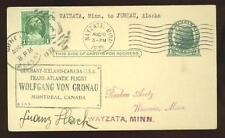 (Arctic, RTW) Rare 1932 Gronau flight card, only 10  prepared