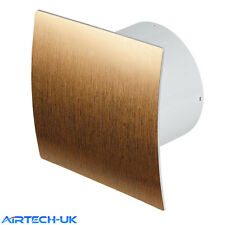 "Bathroom Extractor Fan 100mm / 4"" with Timer Humidity Sensor Humidistat EZ-100H"