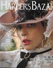 Harpers Bazaar Magazine Lady Gaga Jennifer Lopez Chloe Grace Moretz Anniversary