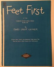 Feet First at the Hammond Spinet Model Organ M-100 L-100 by David Carr Glover