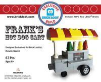 Exclusive Brick Loot Hot Dog Cart by Kevin Szeto – 100% LEGO Bricks set