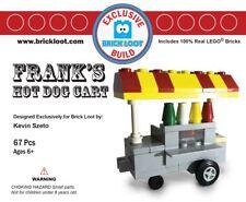 Exclusive Brick Loot Hot Dog Cart - 100% LEGO Bricks Set