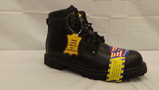 "New ""Big M"" Insulated Steel Toe Work Boots/Shoes Sz 8EE Military,Officer NWOB"