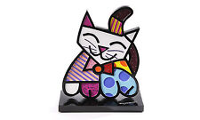 Romero Britto Cat Figure 2-D FIGURINE - NEW with Tag