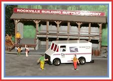 HO Scale: Custom Hot Wheels / Combat Medic _ USPS _ Delivery Truck