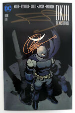 Dark Knight III The Master Race Book Five Signed by Miller and Capullo with COA