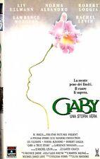 GABY UNA STORIA VERA (1987) VHS Columbia 1a Ed. Luis Mandoki Liv Ullmann Loggia