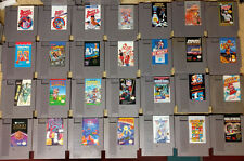Nintendo Nes Huge Lot Of 28 Classic Games - No dups - super cheap