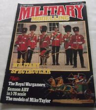 A Military Modelling Magazine October 1985