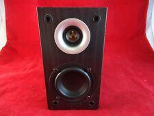 1 Black PINNACLE S-FIT SAT 250 2-Way Satellite Speaker Wall Mount Bookshelf EUC