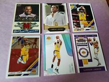 LEBRON JAMES ROOKIE card Game Used Jersey '19-20 Optic DONRUSS CONTENDERS LAKERS