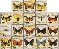 Guinea-Bissau 1490-1507 unmounted mint / never hinged 2001 Butterflies
