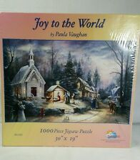 Joy To The World 1000 Piece Jigsaw Puzzle by Paula Vaughan Sealed New In Box