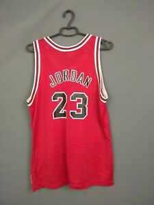 Michael Jordan Chicago Bulls Jersey Taille 44 Basketball Polo Hommes Champions