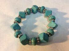 - Adjustable Turquoise Bracelet