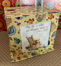 Mary Engelbreit Teacup Picture Frame Storage Cube
