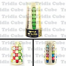 Vintage Babylon Tower Rotating Beads Puzzle Cube Tower of Babel NEW- US SELLER -