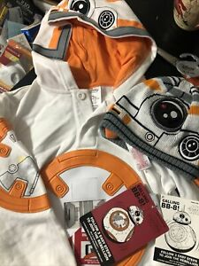 Bb8 Star Wars Disney Store Sweatshirt And Hat NWT