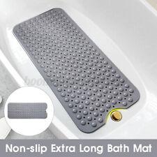 Extra Long  Anti Slip Shower Mat PVC  Bathtub Antibacterial