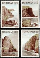 Faroe Islands #197-200 Fa192-195 MNH CV$6.15