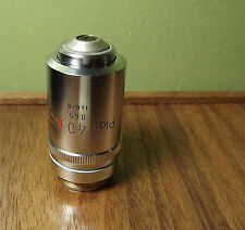 NIKON Plan 40X NCG Microscope Objective Lens 40/0.65 No Cover Glass 160mm