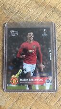 2020 Topps Now Mason Greenwood Rookie RC Manchester United Europa League RARE