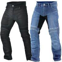 Herren Motorrad Jeans Motorradhose Denim mit Protektoren 30 - 42  inch