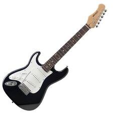 Stagg - LH BK Guitare Électrique Gaucher Taille 3/4 Noir